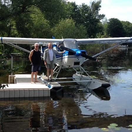 """""""2014-08-Bob-Mark-Seaplane"""