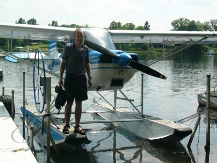 """2011-06-Brad-Savage-SeaPlane"""