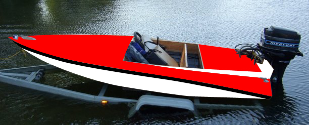 &#034;Lukes-Boat-Red&#034;